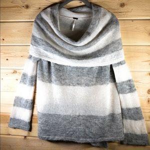 Free People Sweaters - Free People Lulu Rugby Alpaca Striped Sweater